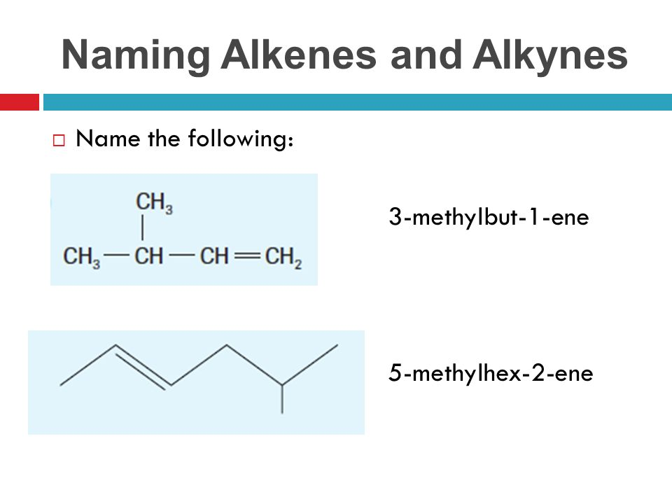 Section 93 Pg Naming Organic Pounds Alkenes And Alkynes. 7 Naming Alkenes And Alkynes Name The Following 3methylbut1ene 5methylhex2ene. Worksheet. Naming Alkenes Worksheet At Clickcart.co
