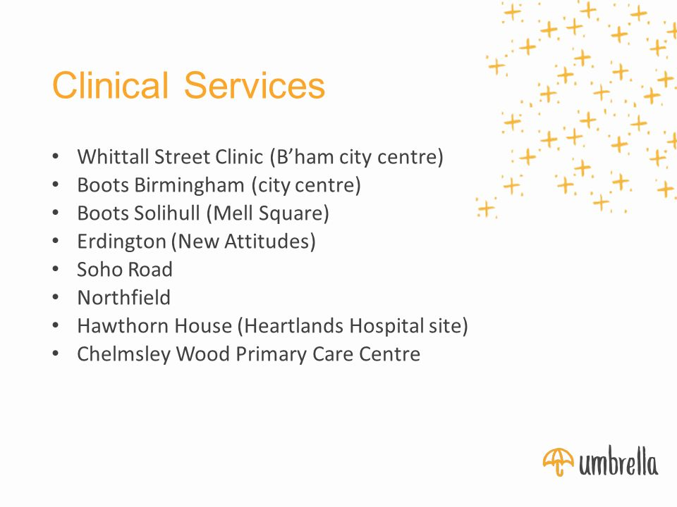 Boots sexual health clinic birmingham city centre