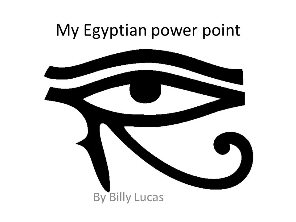 My Egyptian power point By Billy Lucas  Anubis Anubis is the god of