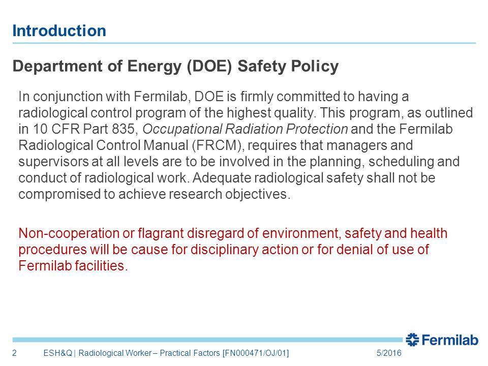 radiological worker practical factors fn000471 oj 01 environment rh slideplayer com Supervisor of Radiological Controls Supervisor of Radiological Controls