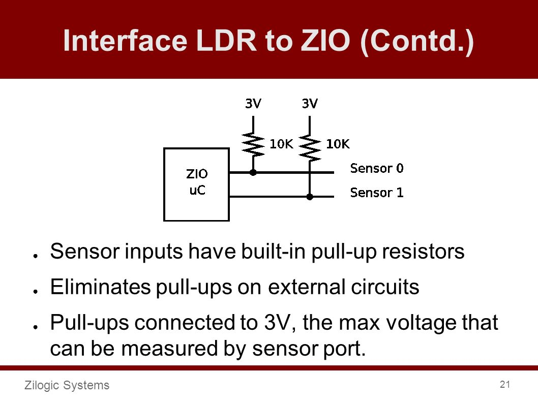 Zilogic Systems 1 Device Interfacing With Python And Zio Ldr Circuit Diagram 230v 21