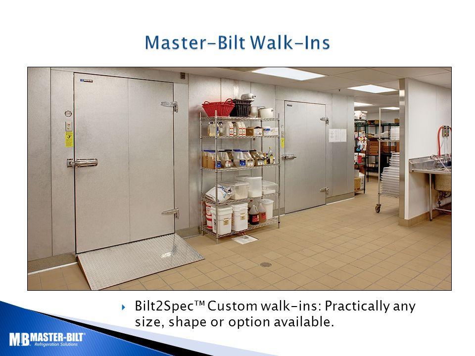 bilt2spec™ custom walk-ins: practically any size, shape or option on  switch master bilt