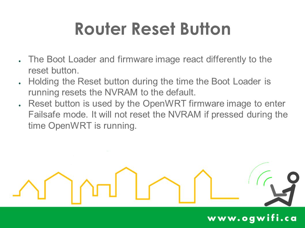 Oops or How to Recover from Problems with your WRT54G(L