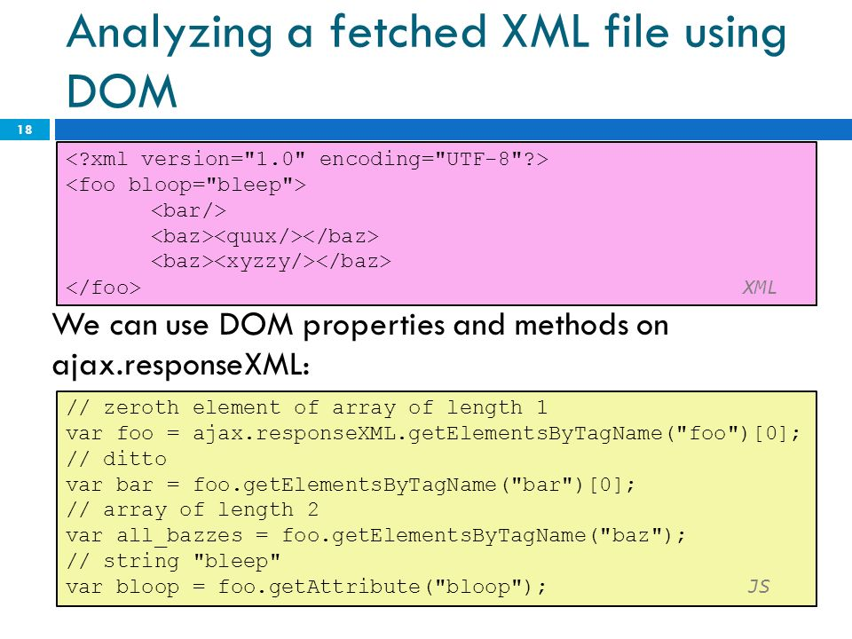 XML CS What is XML?  XML: a