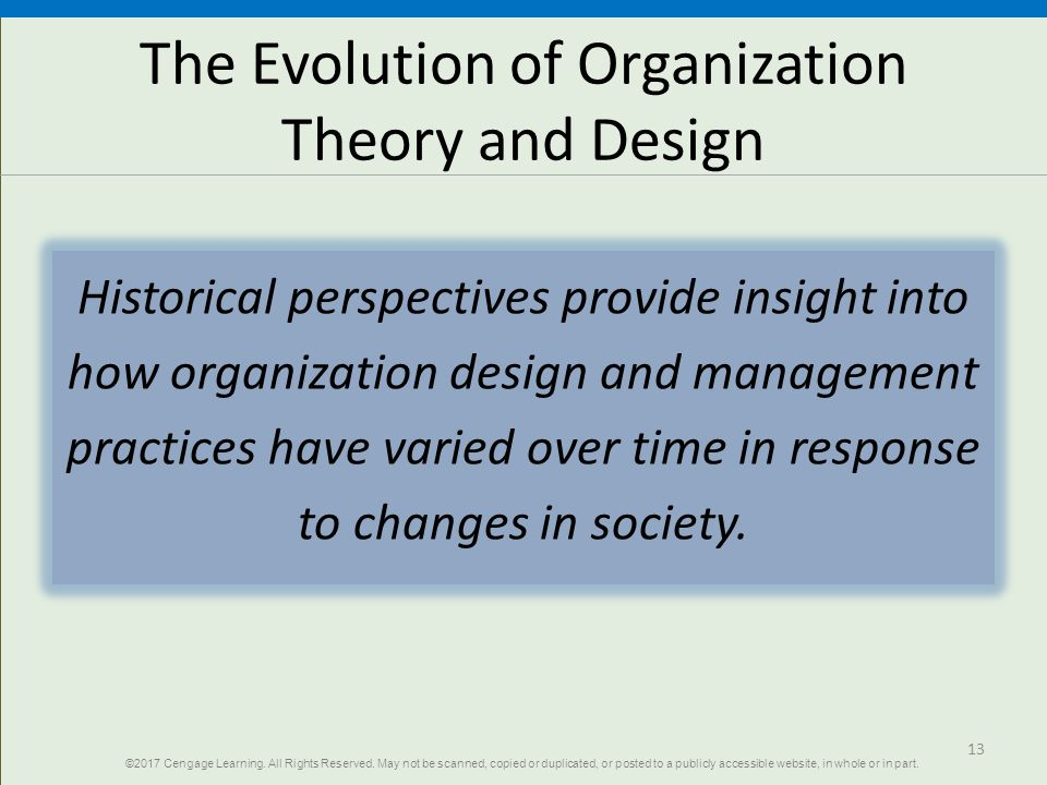 1 Chapter Organizations And Organization Theory Organization Theory And Design Twelfth Edition Richard L Daft Ppt Download