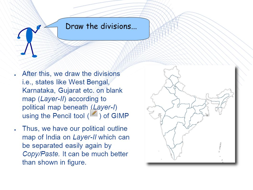 KGeography Lets\' add the map of India It is a geography learning ...