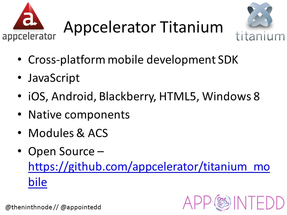 Cross-platform Mobile Development with Appcelerator Titanium Billy