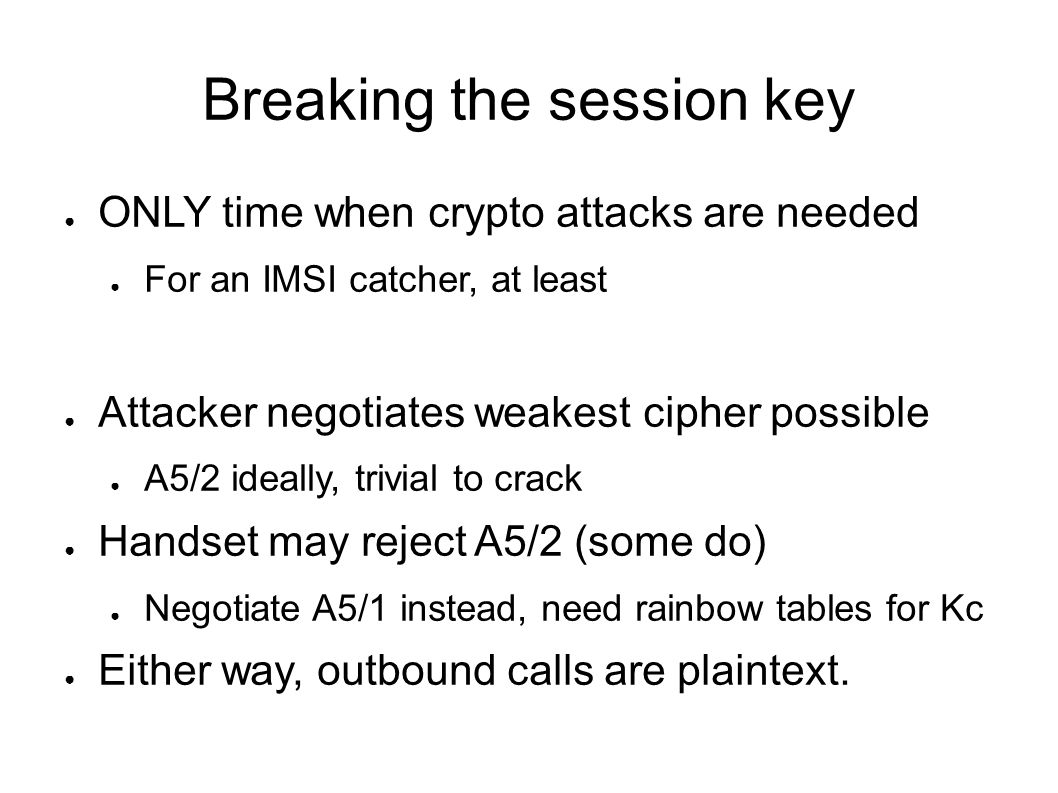 Chris Paget Defcon 18 Practical Cellphone Spying  - ppt download