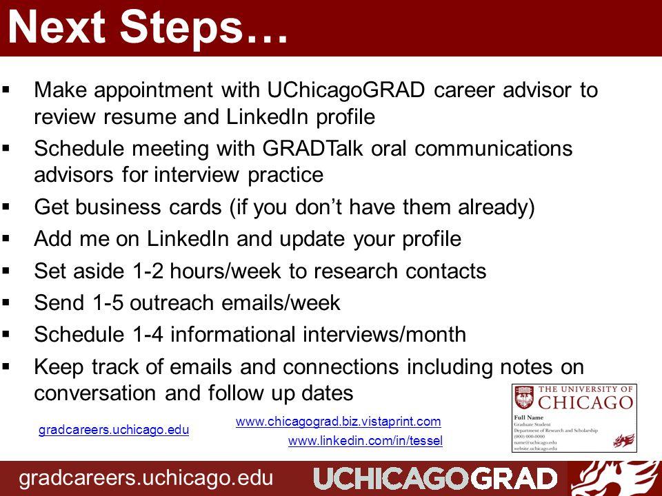 Informational Interview Workshop 12616 Gradcareersuchicago