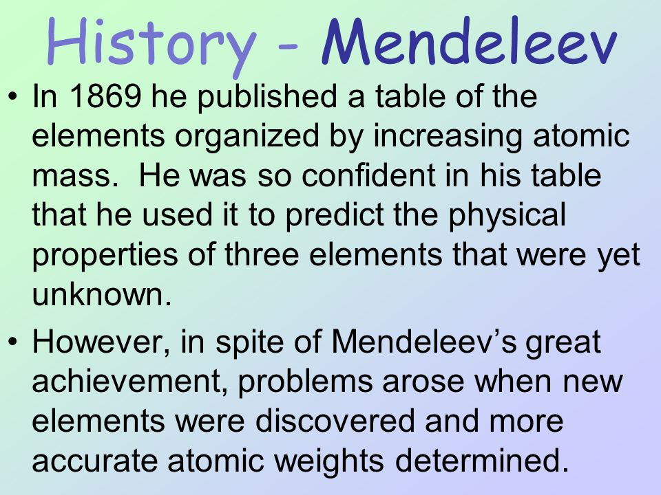 Periodic Table What Is It And How Is It Useful Ppt Download