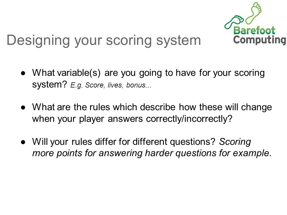 Maths Quiz Adding A Score Ks 2 Work With Variables Ppt Download