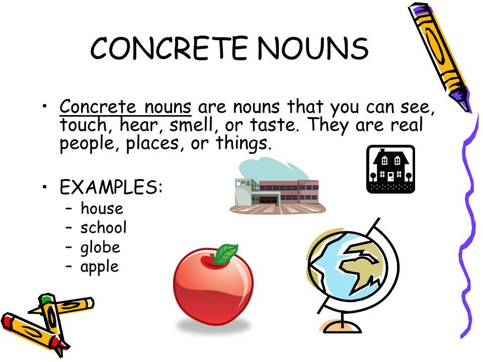 Nouns A Personplace Thing Or Idea A Common Noun Names A Person