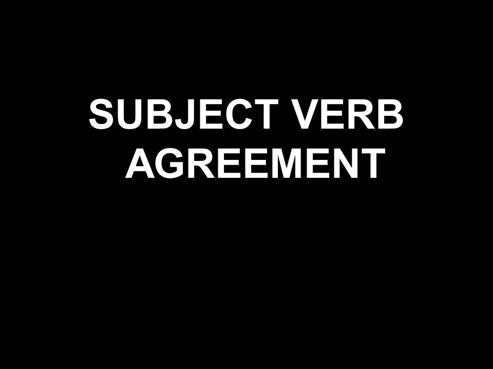 Which Sentence Uses Correct Subjectverb Agreement A Each Of The