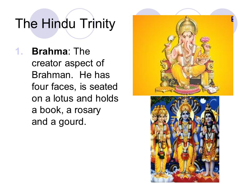 what is the hindu trinity