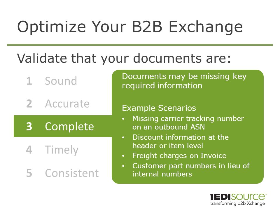 Achieve Operational Excellence through Your B2B Exchange