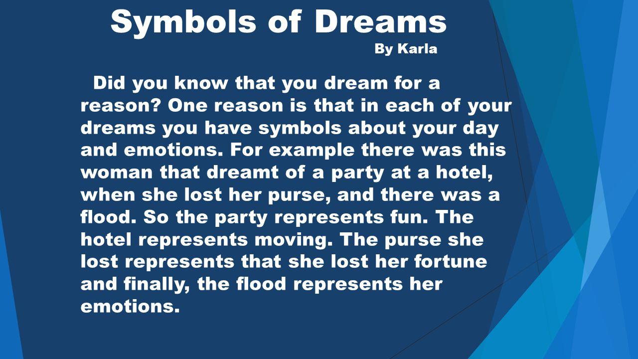 How Do Dreams Form By Abdallah Sofia C Karla Elena And Eli