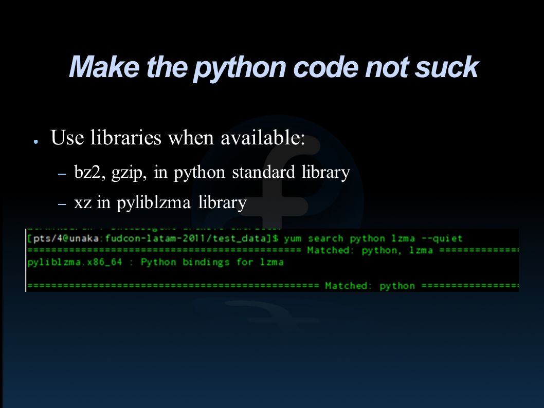 Introduction to Python for System Administrators Toshio