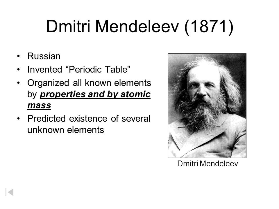 Development of periodic table law of octaves original periodic table periodic table arranged the 62 known elements into 2 dmitri urtaz Images
