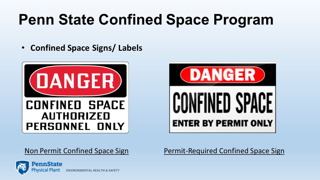 Confined Spaces – Avoiding Unnecessary Hazards and Hazardous