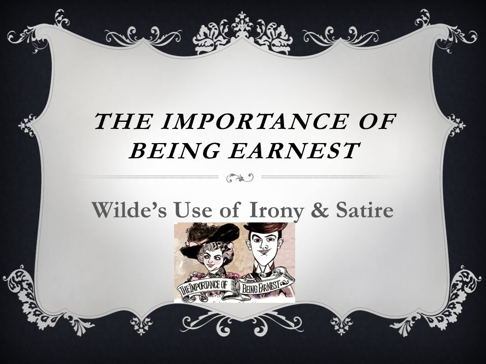 dramatic irony in the importance of being earnest