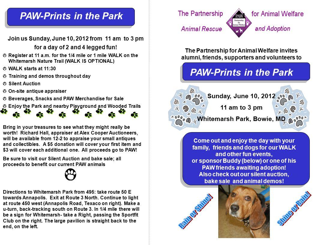 The Partnership for Animal Welfare invites alumni, friends