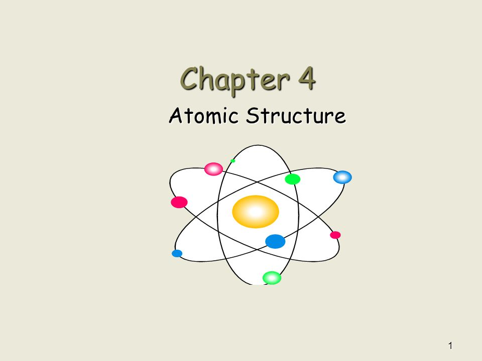 1 Chapter 4 Atomic Structure 2 Section 4.1 – Defining the Atom ...