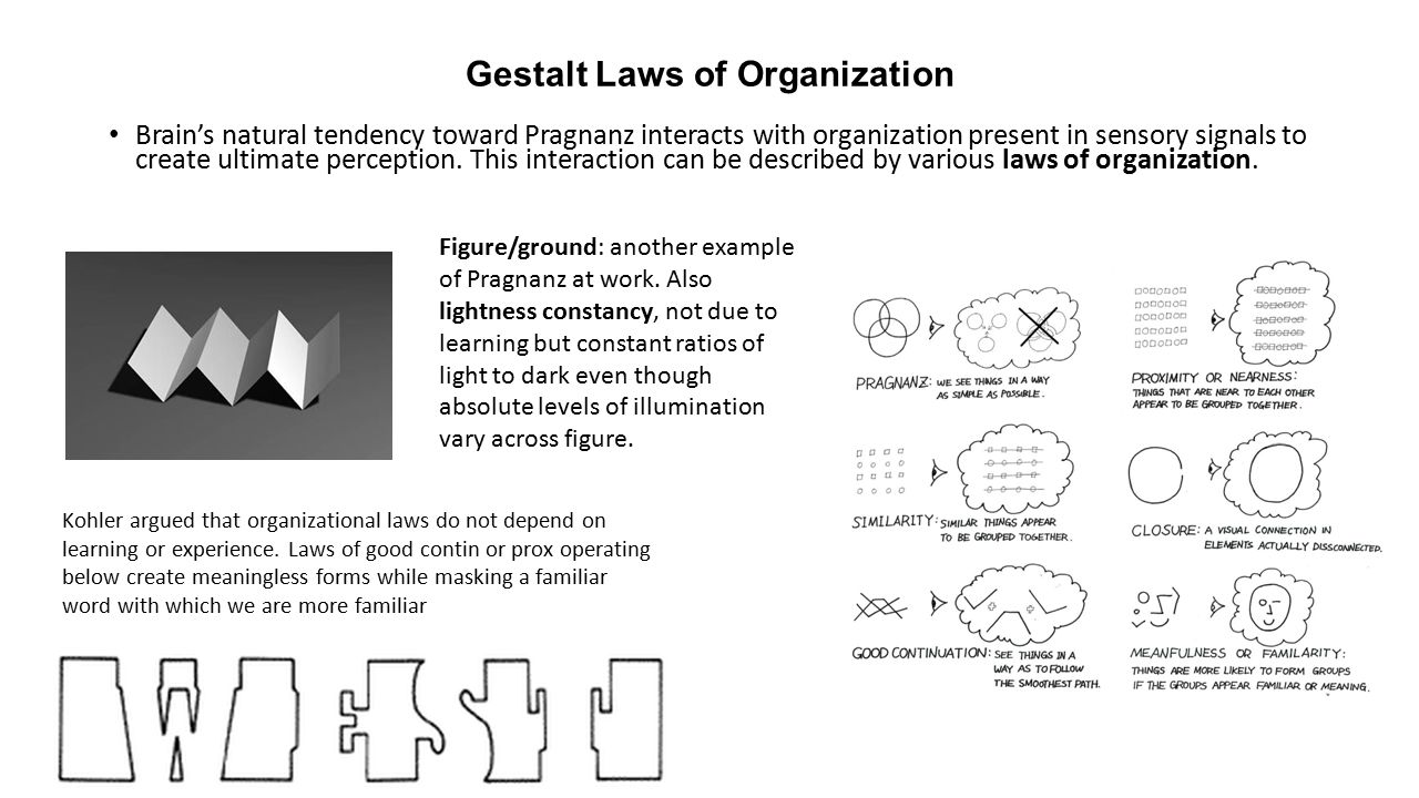 Gestalt Psychology Arose As A Reaction To The Elementalism Of Kohler Ch15 5 Wiring Diagram 4