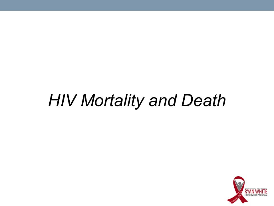 HIV Mortality and Death