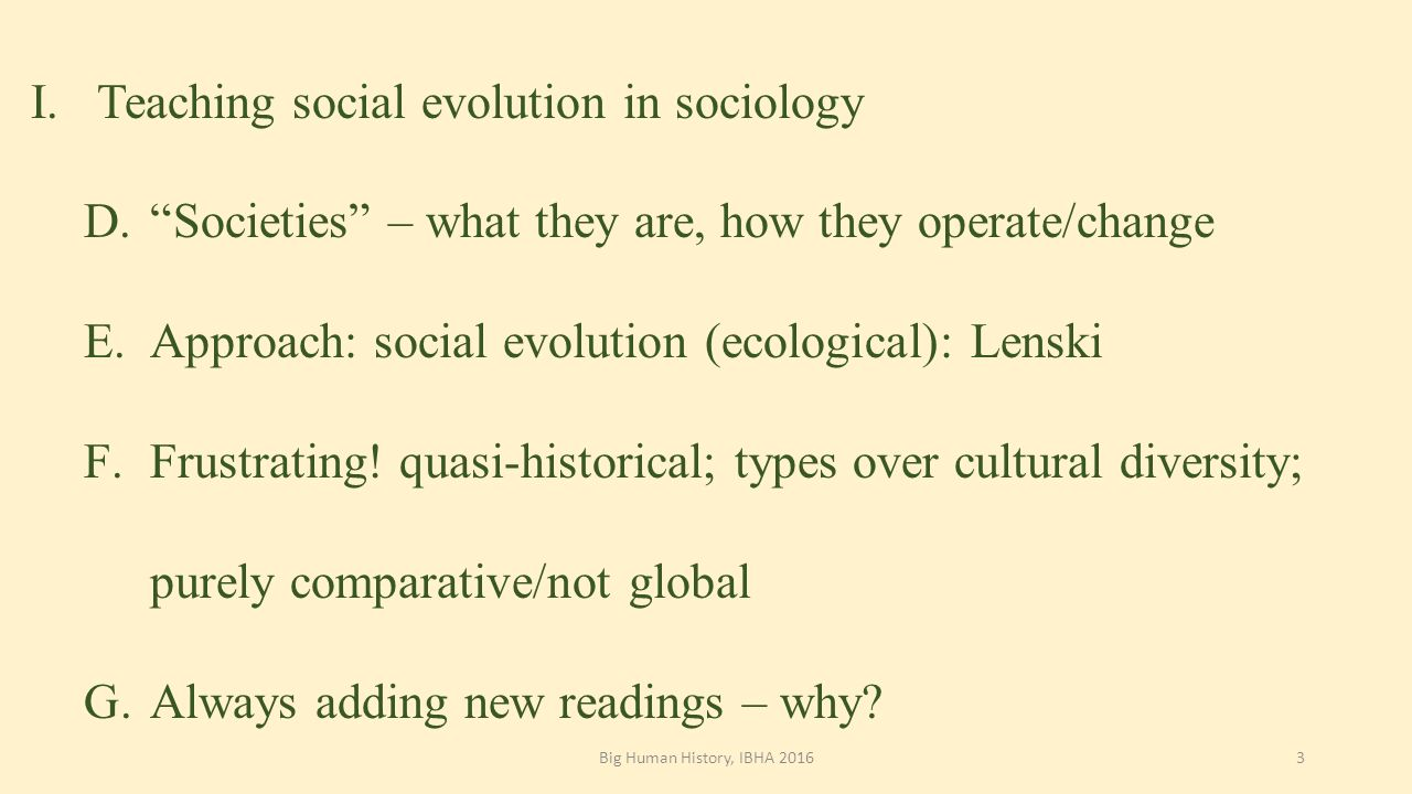 The concept of cultural and historical types N.Ya. Danilevsky BRIEFLY