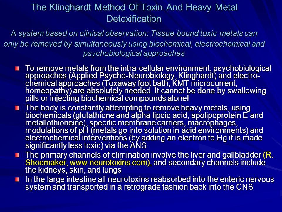Chronic Illness and Mercury Toxicity Dietrich Klinghardt MD