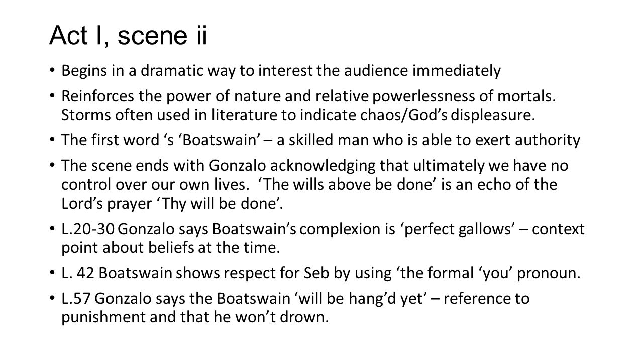 the tempest act 1 scene 1 summary