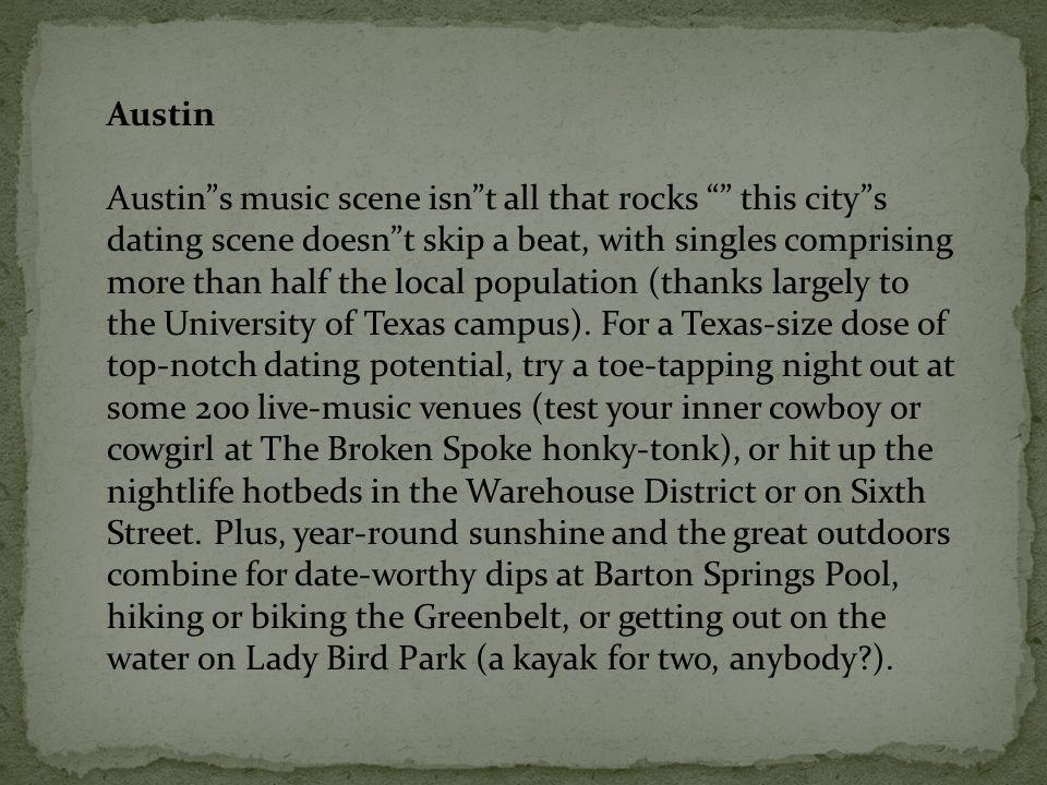 Best cities dating scene