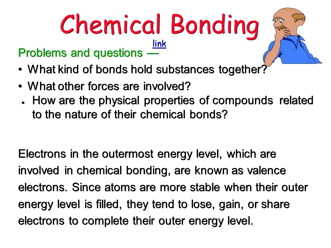 Types of chemical bonds. How to connect atoms 51