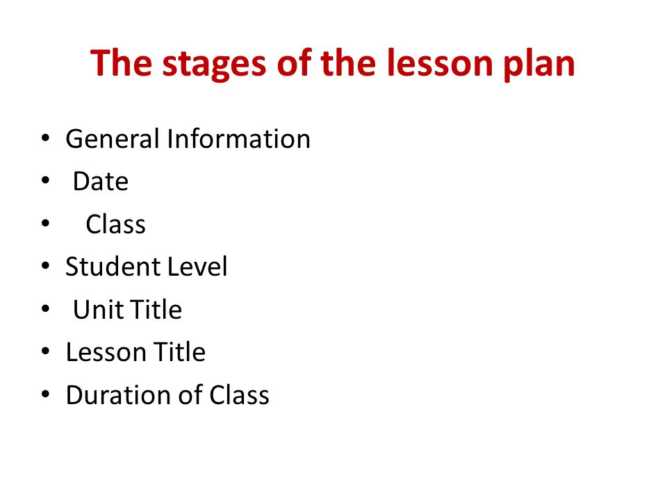 stages of dating lesson plan
