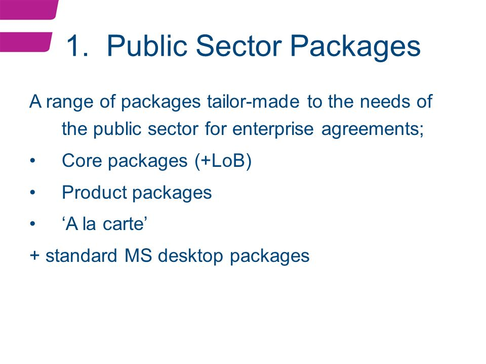 Microsoft New Public Sector Agreement Psa09 Andrew Gibson Ppt
