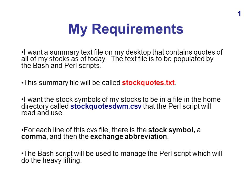 Using Bash And Perl In Ubuntu To Get Stock Quotes Presented By Dave