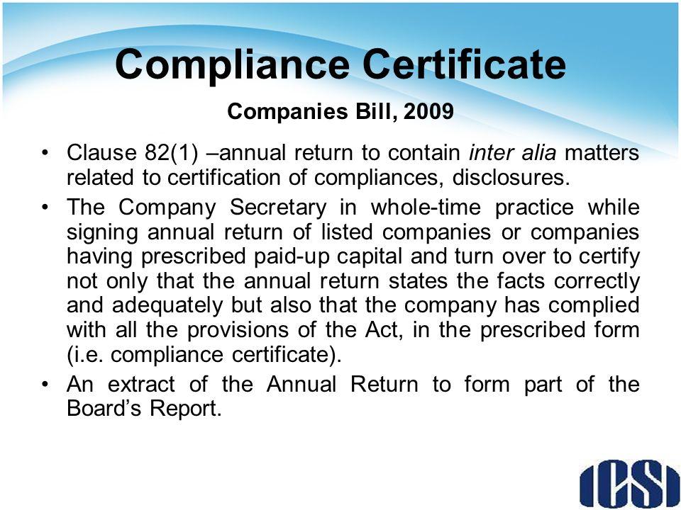 Recognition Of Company Secretaries Companies Act 1956 Vs