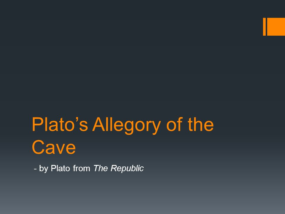 an analysis of the allegory of the cave in platos republic The allegory of the cave and disney movies the allegory of the cave is one of many vivid and complex stories in plato's book entitled the republic the allegory of the cave is a story about the unseen truth of the outside world.