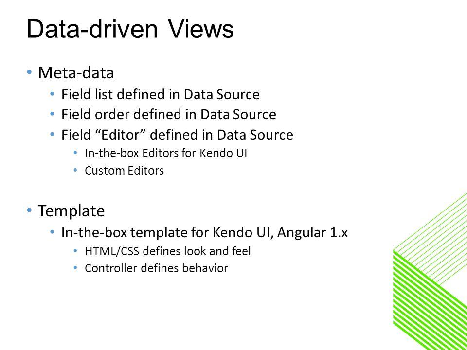 Kendo UI Builder A tool to modernize OpenEdge Apps June 2016 Shelley