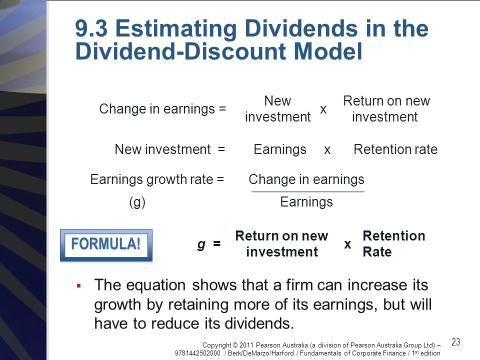 PowerPoint to accompany Chapter 9 Valuing Shares  - ppt download