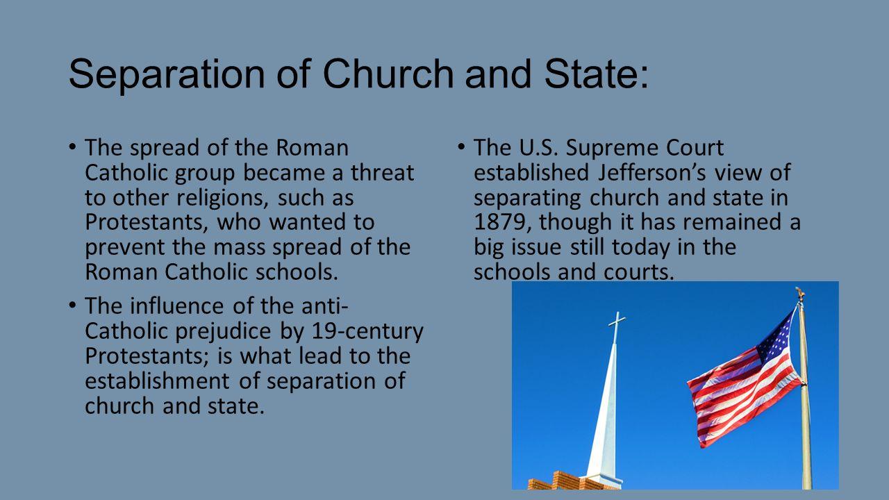 Catholic views on separation