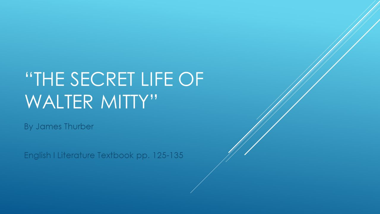 what is the theme of walter mitty
