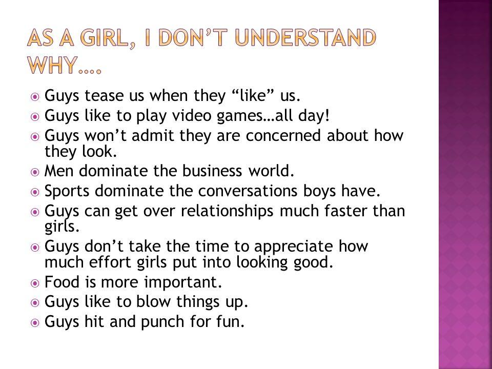 Do guys tease girls why 10 Ways