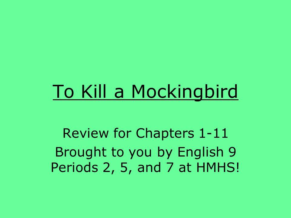 summary of to kill a mockingbird chapters 1 11