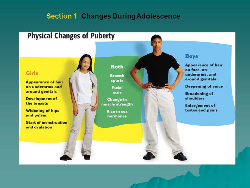 body changes in adolescence