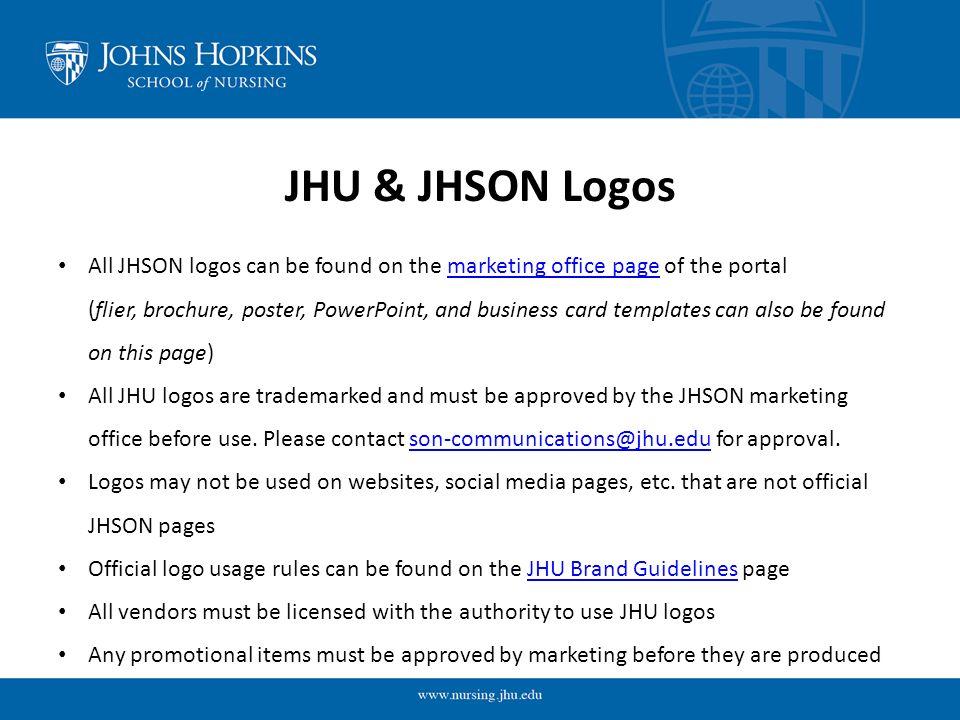 Johns hopkins school of nursing student organization marketing 2 jhu reheart Image collections