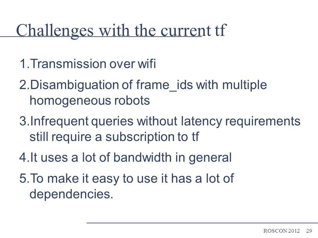 Understanding tf ROSCON 2012 Tully Foote - ppt download