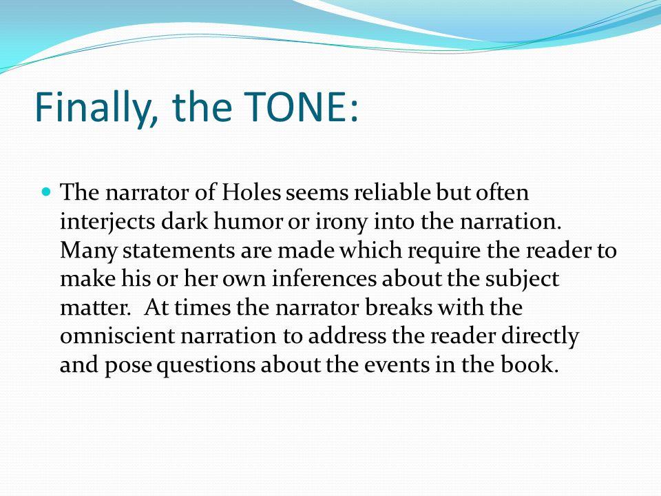 irony in holes