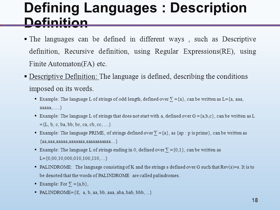 descriptive meaning and examples
