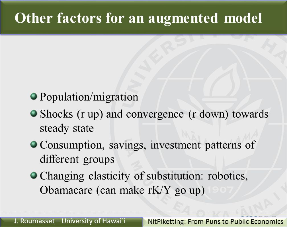 Uhero Hawaii Edu C 2011 Nitpiketting From Puns To Public Economics